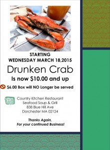 Drunken Crab Flyer