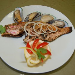 Fish Mussels